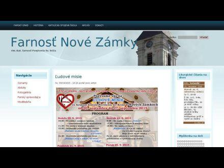 www.novezamky.fara.sk