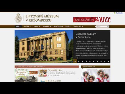 www.liptovskemuzeum.sk
