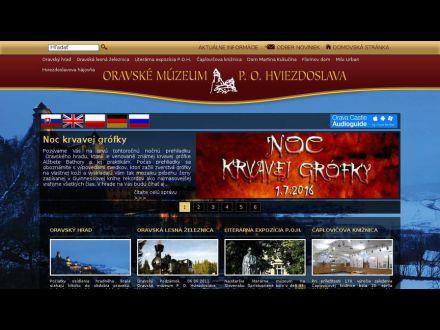 www.oravamuzeum.sk