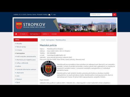 www.stropkov.sk/mestska-policia