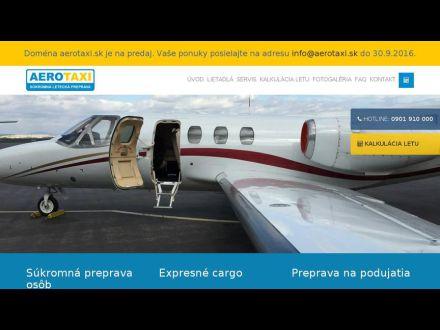 www.aerotaxi.sk