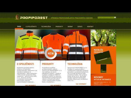 www.profiforest.eu