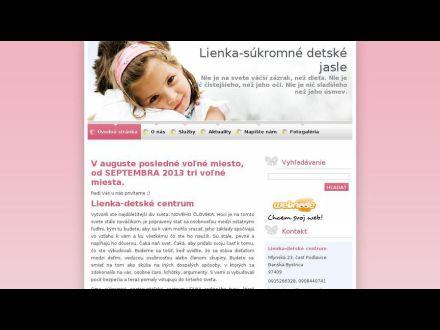 www.lienka-detskecentrum.webnode.sk
