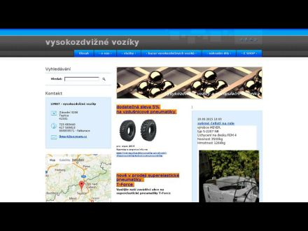 www.limat-vysokozdvizne-voziky.cz