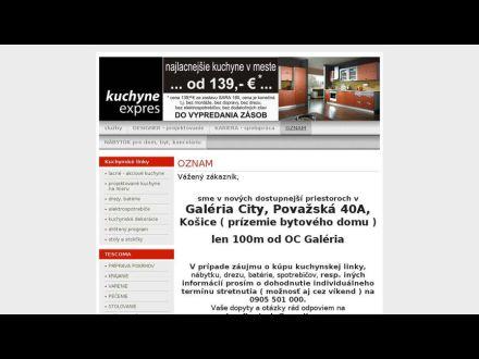 www.kuchyneexpres.sk