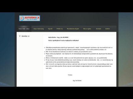 www.autoskolaklimek.sk