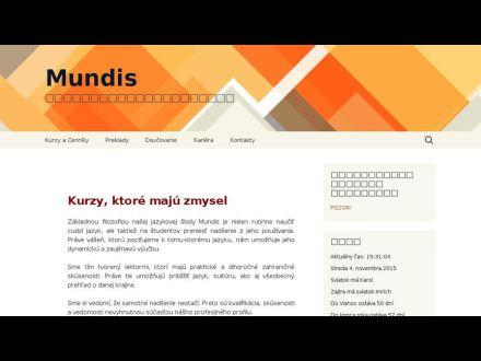 www.mundis.sk