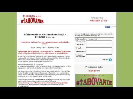 www.stahovanieeuroben.sk