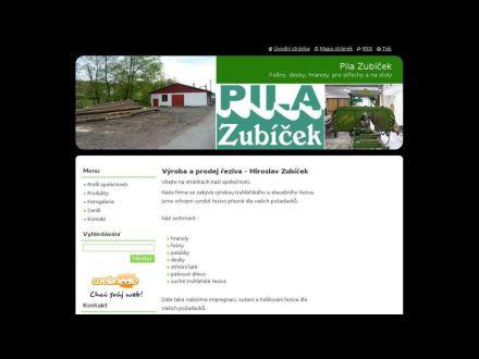 www.pila-zubicek.cz