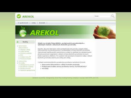 www.arekol.sk