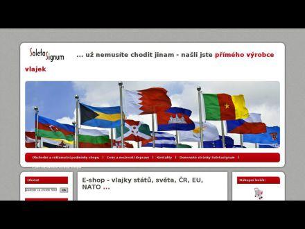 www.soletasignum.cz/vlajky-shop