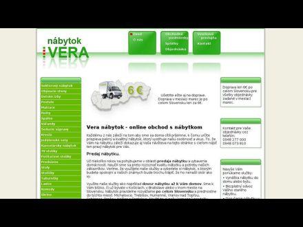 www.vera-nabytok.sk