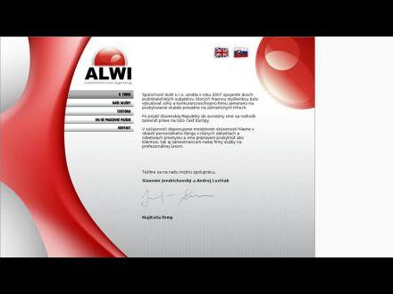 www.alwi.sk