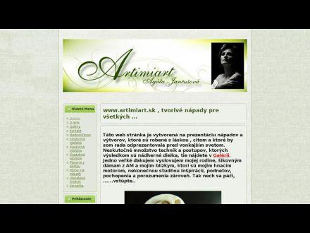 www.artimiart.sk