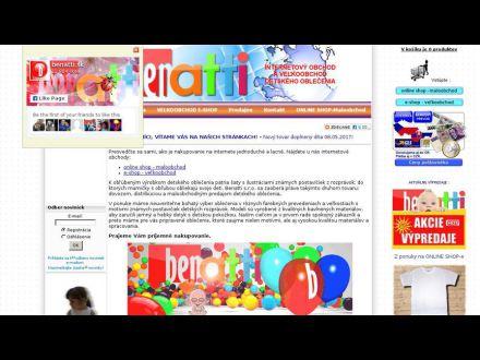 www.benatti.sk