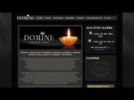 www.domine.sk