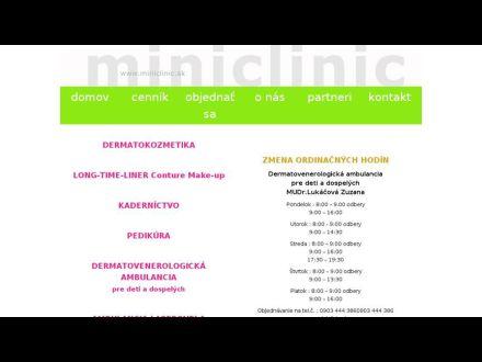 www.miniclinic.sk