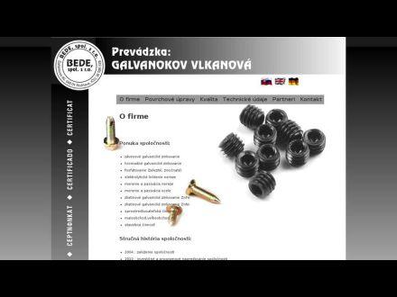 www.bede.sk