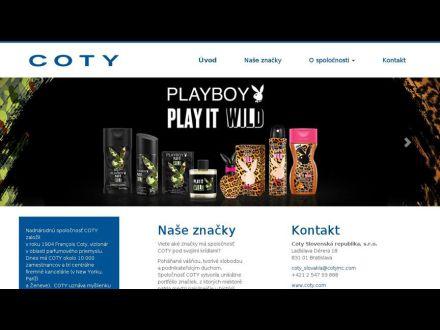 www.coty.sk