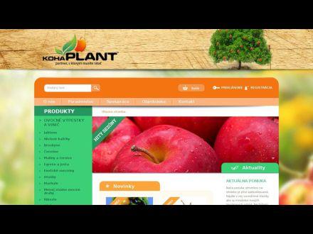 www.kohaplant.sk