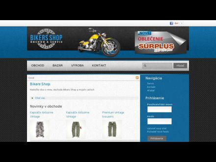 www.bikersshop.sk