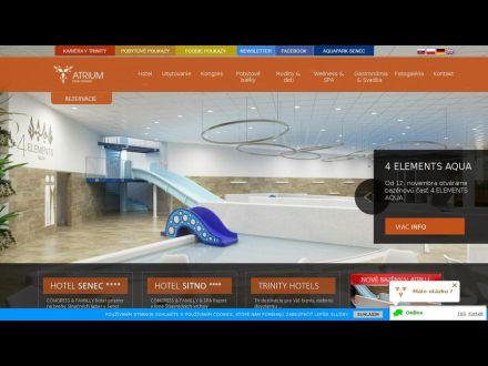 www.atriumhotel.sk