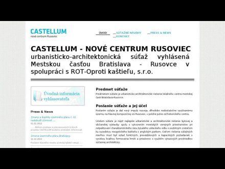 www.castellum.sk