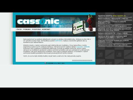 www.cassonic.sk