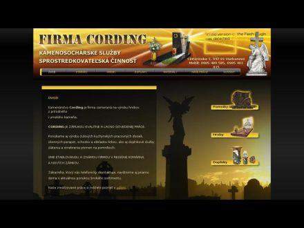 www.cording.sk