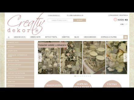www.creativdekor.sk