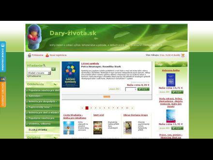 www.daryzivota.sk