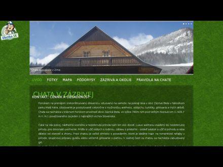 www.chatavzazrivej.sk