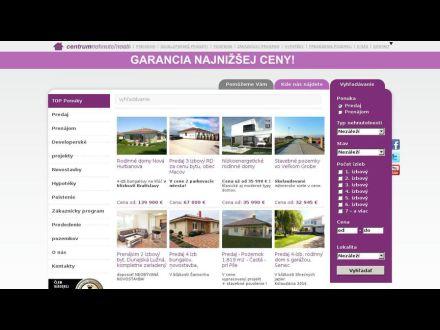 www.centrumnehnutelnosti.sk