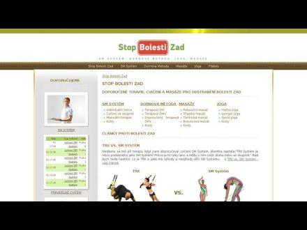 www.stopbolestizad.cz