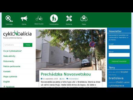 www.cyklokoalicia.sk
