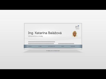 www.katarinabalazova.sk