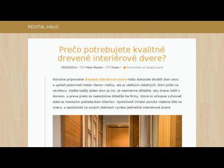 www.revital-haus.sk