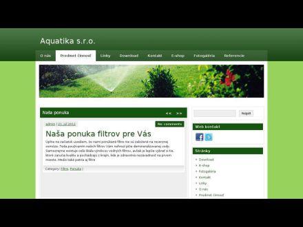 www.aquatika.sk