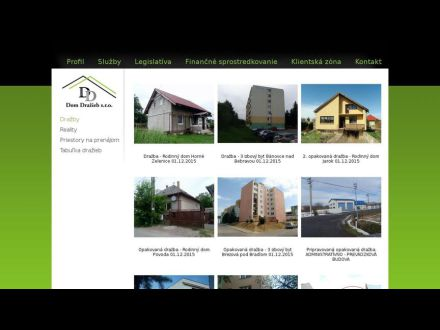 www.domdrazieb.sk