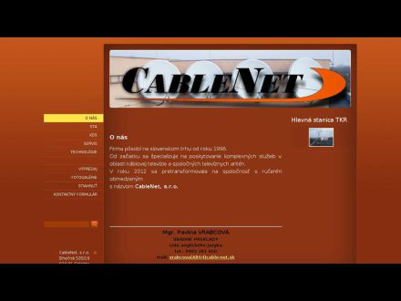 www.cable-net.sk