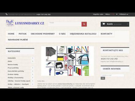 www.luxusnidarky.cz