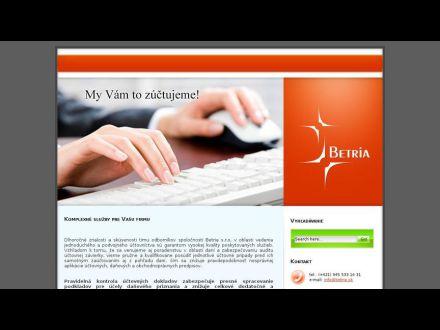 www.betria.sk