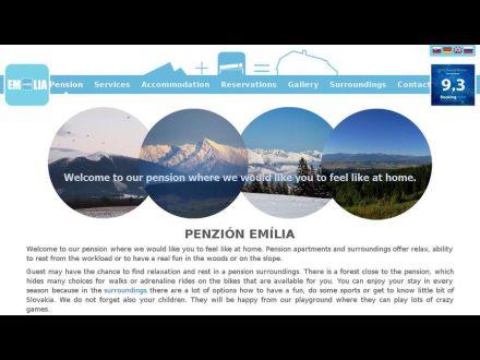 www.penzion-emilia.sk