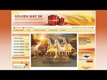 www.goldenway.sk