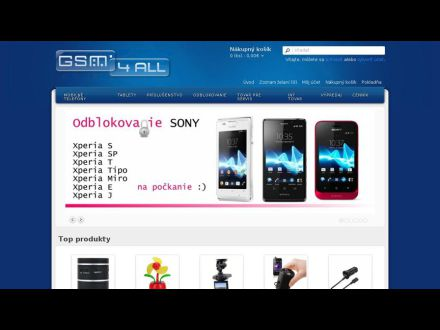 www.Gsm4all.sk