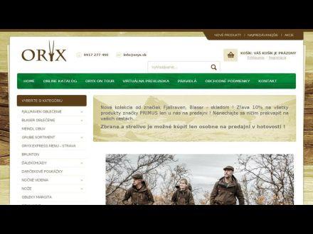 WWW.ORYX.SK
