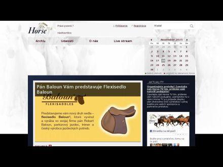 www.horsetv.sk