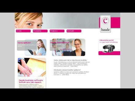 www.haude.sk