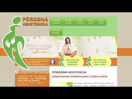 www.porodnaasistencia.sk