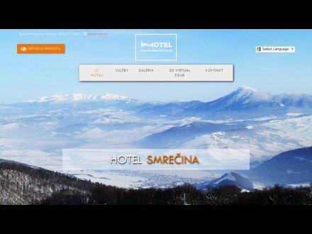 www.hotelsmrecina.sk